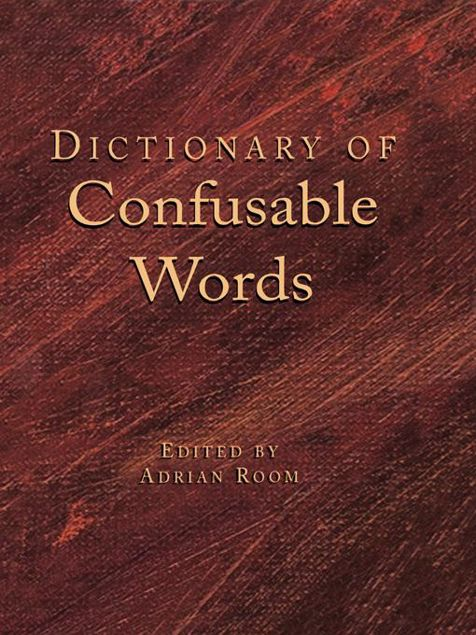 Picture of Dictionary of Confusable Words