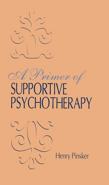 Picture of A Primer of Supportive Psychotherapy