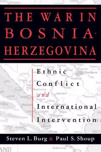Picture of Ethnic Conflict and International Intervention: Crisis in Bosnia-Herzegovina, 1990-93: Crisis in Bosnia-Herzegovina, 1990-93