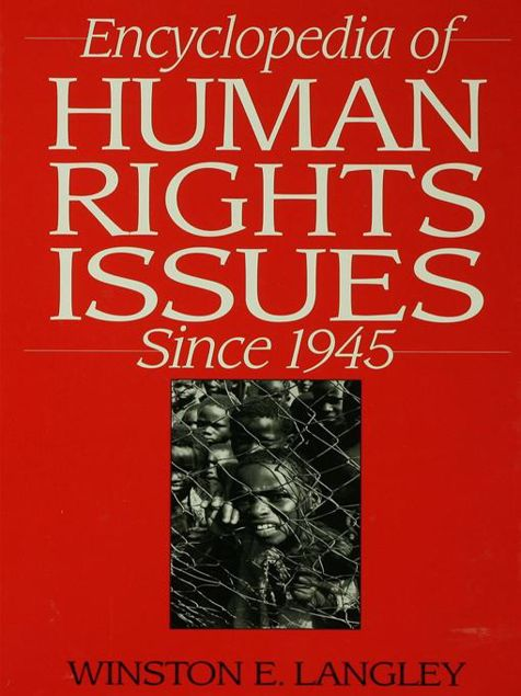 Picture of Encyclopedia of Human Rights Issues Since 1945