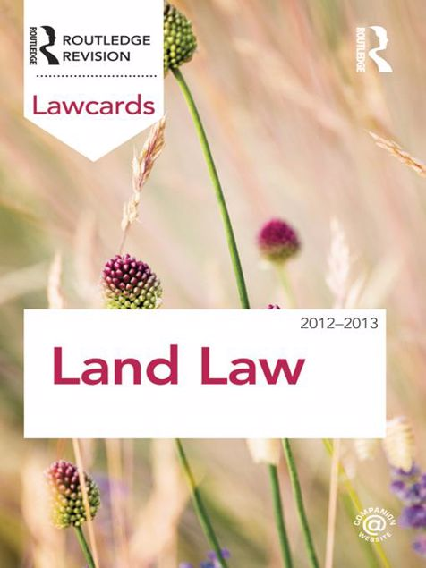 Picture of Land Law Lawcards 2012-2013