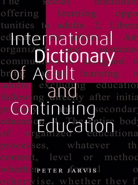Picture of An International Dictionary of Adult and Continuing Education