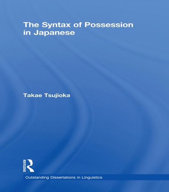 Picture of The Syntax of Possession in Japanese