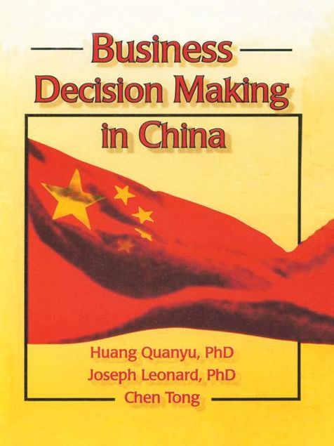 Picture of Business Decision Making in China