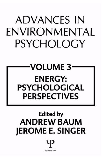 Picture of Advances in Environmental Psychology: Volume 3: Energy Conservation, Psychological Perspectives