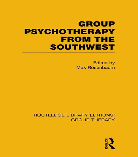 Picture of Group Psychotherapy from the Southwest (Rle: Group Therapy)