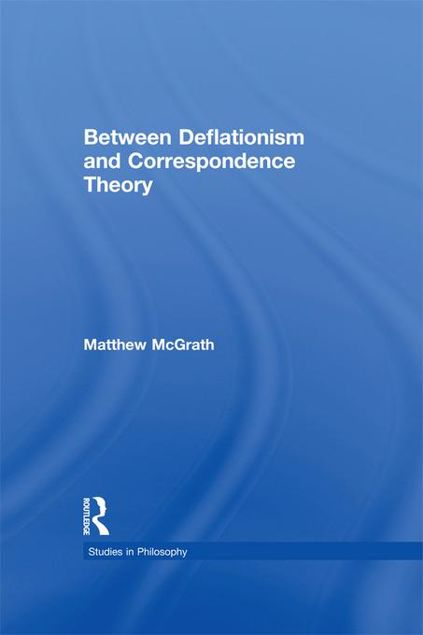 Picture of Between Deflationism and Correspondence Theory