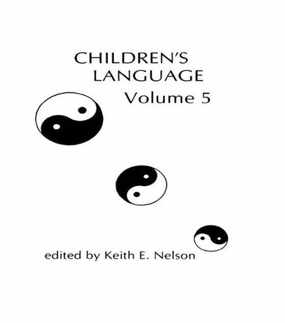 Picture of Children's Language: Volume 5