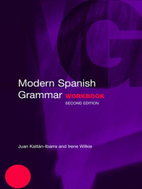 Picture of Modern Spanish Grammar Workbook