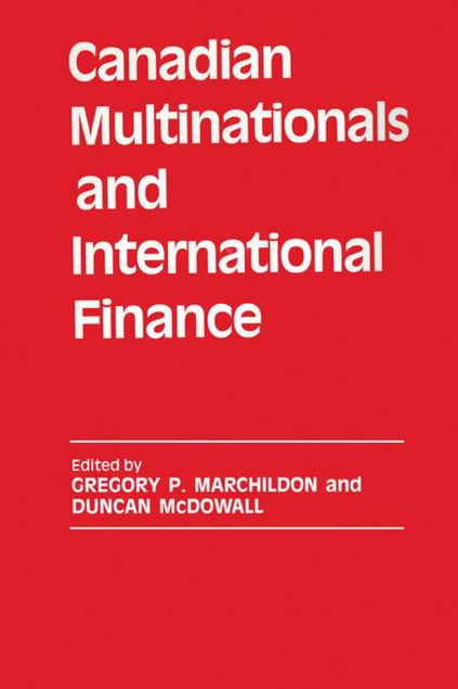 Picture of Canadian Multinationals and International Finance