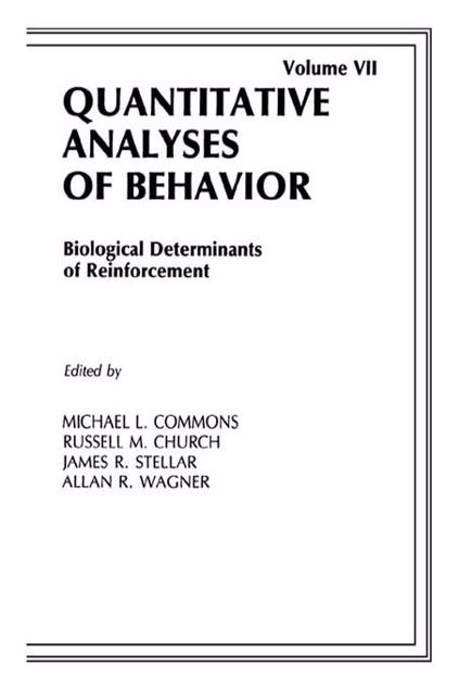 Picture of Biological Determinants of Reinforcement: Biological Determinates of Reinforcement