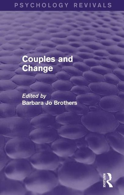 Picture of Couples and Change (Psychology Revivals)