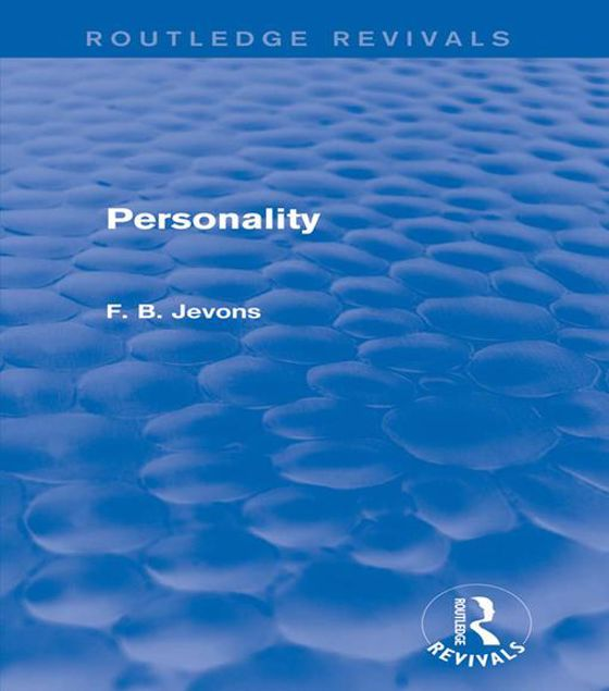 Picture of Personality (Routledge Revivals)