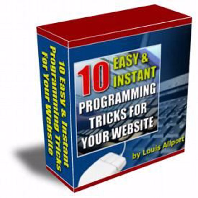 Picture of 10 Easy And Programming Tricks For Your Website