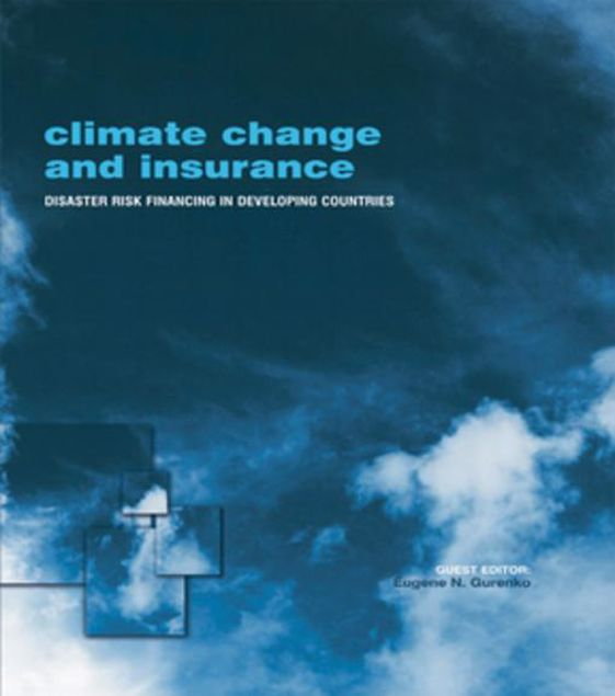 Picture of Climate Change and Insurance: Disaster Risk Financing in Developing Countries