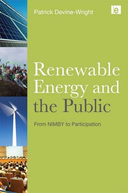Picture of Renewable Energy and the Public: From Nimby to Participation
