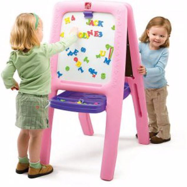 Picture of All Around Easel For Two- Pink