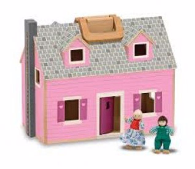 Picture of Fold And Go Dollhouse
