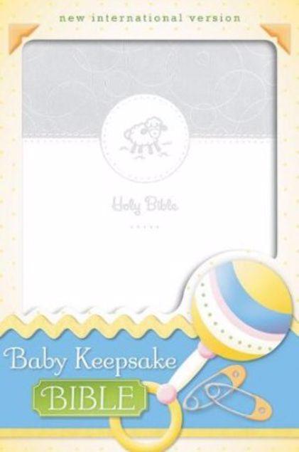 Picture of Baby Keepsake Bible