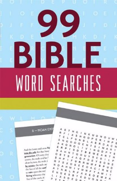 Picture of 99 Bible Word Searches