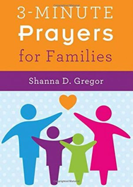 Picture of 3-Minute Prayers For Families