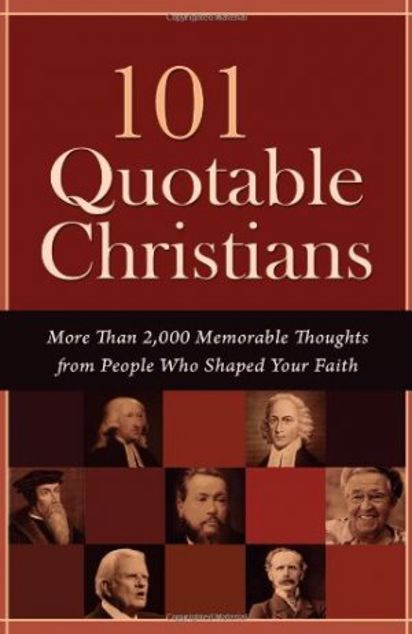 Picture of 101 Quotable Christians