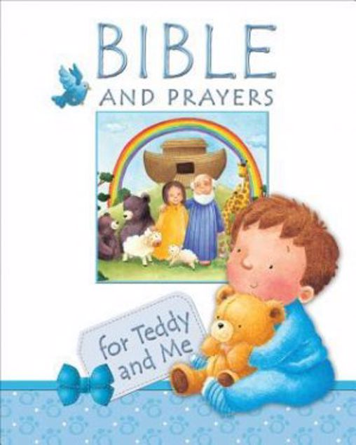 Picture of Bible And Prayers For Teddy And Me