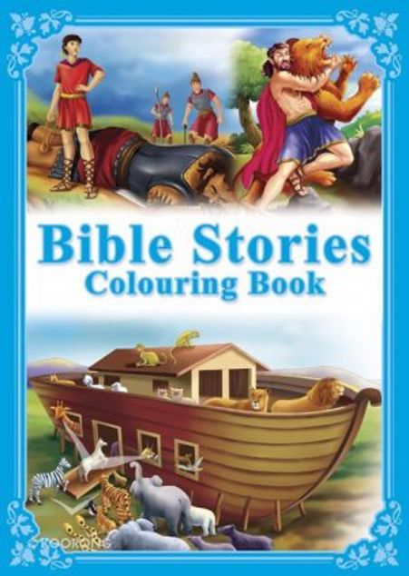 Picture of Bible Stories Colouring Book