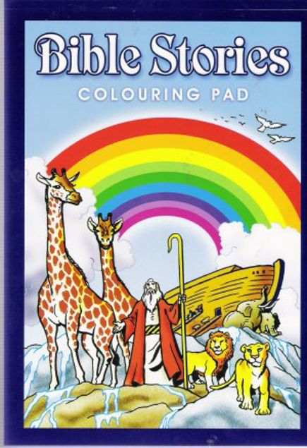 Picture of Bible Stories Colouring Pad