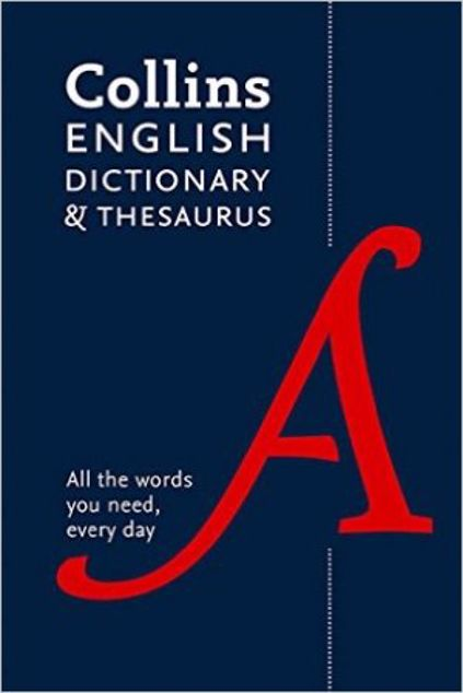 Picture of Collins English Dictionary And Thesaurus