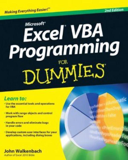 Picture of Dummies-Excel Vba Program