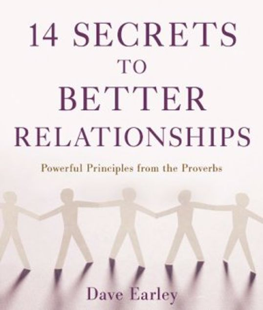 Picture of 14 Secrets To Better Relationships Paperback (14 Bible Secrets Series)