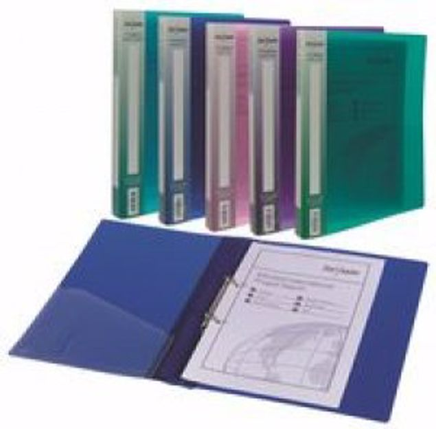 Picture of 2 Ringbinder Electra Purple