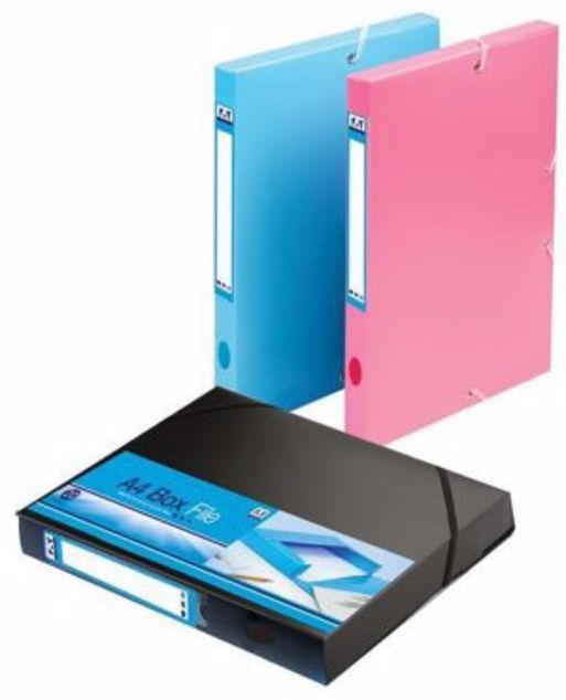 Picture of A4 Box File Blue (Exgo_1)
