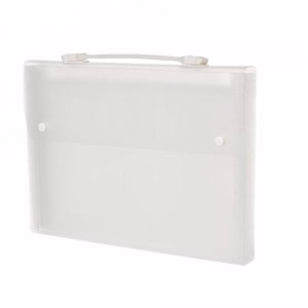 Picture of 6 Pocket A4 Expanding File (Exp 2) White