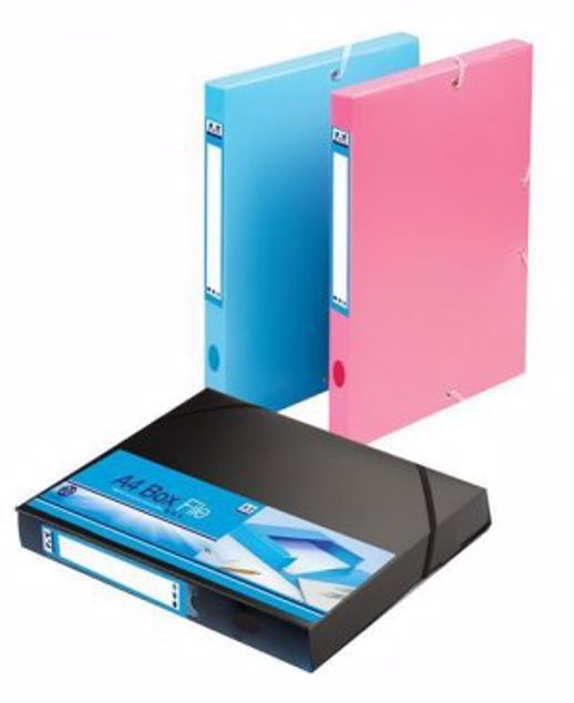 Picture of A4 Box File Pink (Exgo_1)