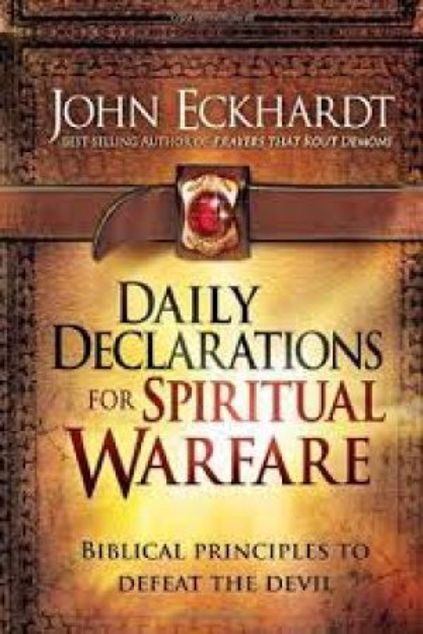 Picture of Daily Declarations For Spiritual Warfare: Biblical Principles To Defeat The Devil