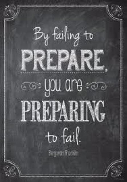 """Picture of By Failing To Prepare…(13 3/8"""" X 19"""")"""