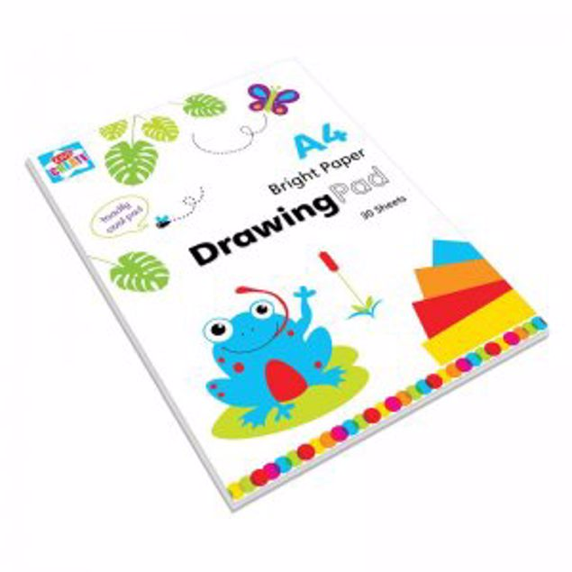 Picture of A4 Bright Drawing Pad (Swot/3)