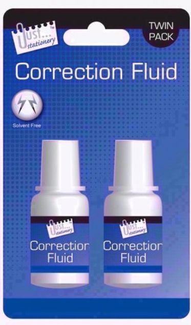 Picture of 2 Piece Correction Fluid