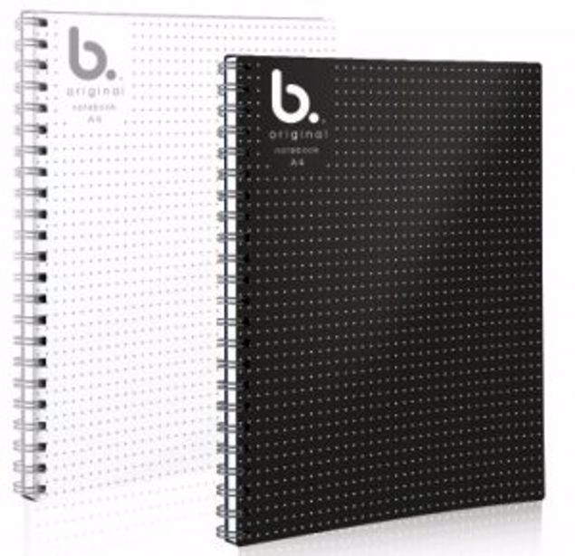 Picture of A4 Twin Wiro Notebook {White}