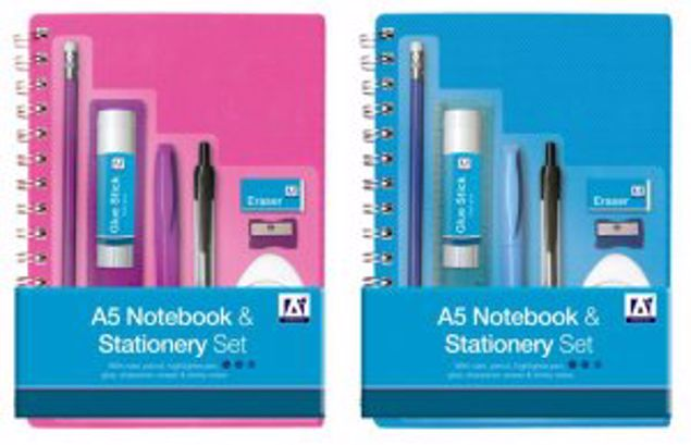 Picture of A5 Notebook & Stationery Set -Stoe-