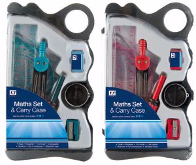 Picture of Maths Set And Carry Case (Beca/2)