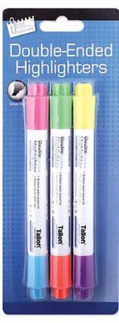 Picture of Highlighters (Double Ended)