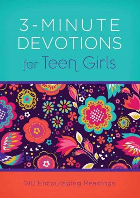 Picture of 3-Minute Devotions For Teen Girls: 180 Encouraging Readings