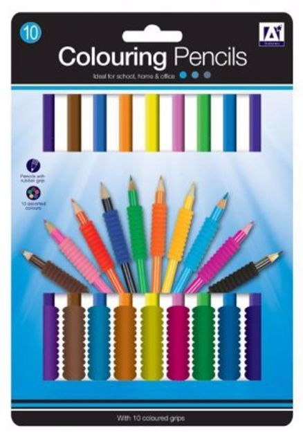 Picture of 10 Colouring Pencils (Ftcl/1)