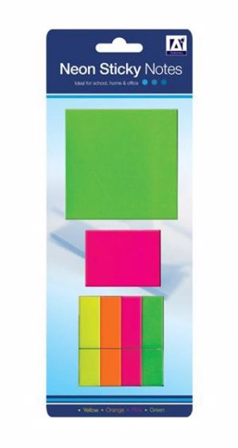 Picture of Neon Sticky Notes (Nonn 1)