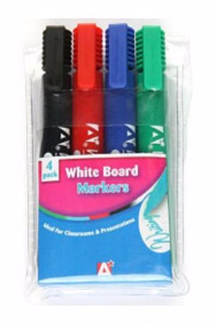 Picture of 4 White Board Marker (Whi-1)
