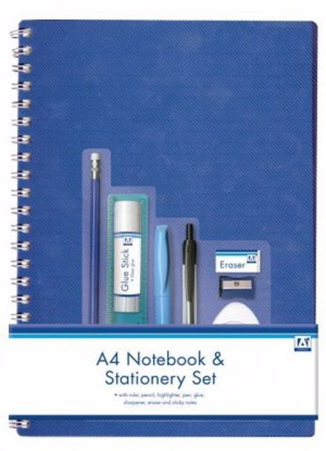 Picture of A4 Notebook & Stationery Set (Stof)
