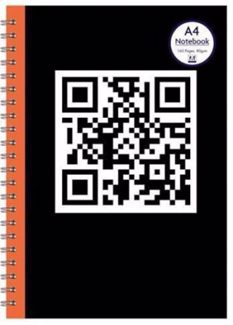 Picture of A4 Twin Wire Notebook (-Qrng-)
